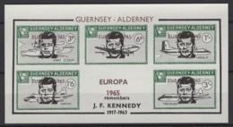 Guernsey-Alderney. 1965 Neuf - Flugzeuge