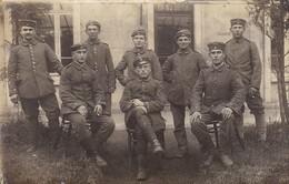 AK Foto Gruppe Deutsche Soldaten - Feldpost Pionierkomp. 269 - 1917 (46414) - Guerra 1914-18