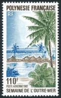 POLYNESIE 1982 - Yv. PA 169 **   Faciale= 0,92 EUR - Semaine De L'Outre-Mer  ..Réf.POL25211 - Poste Aérienne