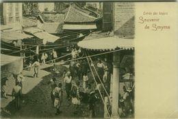 TURKEY - SMIRNE / IZMIR - ENTREE DES BAZARS - EDITION RUBELLIN - 1900s ( BG8672) - Turquia