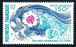 POLYNESIE 1979 - Yv. PA 145 **   Cote= 12,50 EUR - Année Internationale De L'enfant  ..Réf.POL25197 - Poste Aérienne