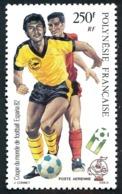 POLYNESIE 1982 - Yv. PA 168 **   Faciale= 2,10 EUR - Coupe Du Monde De Football ESPANA'82  ..Réf.POL25210 - Poste Aérienne