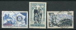 18773 ALGERIE N°328, 330/1° Rotary, Oeuvres De Guerre, Paysage De La Grande Kabylie   1955  TB - Algeria (1924-1962)