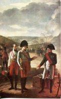 CPA - ENTREVUE DE NAPOLEON DE DE FRANCOIS II  (ILL. Pierre Prudhon) - Storia