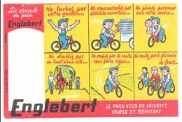 BUVARD Englebert - Le Pneu De Velo Souple Et Résistant - Blotters