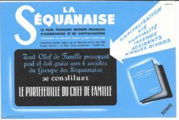 Buvard La Séquanaise Bleu - Bank & Insurance