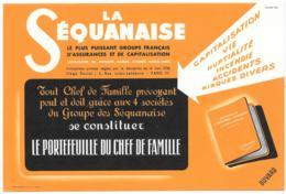 Buvard La Séquanaise Orange - Bank & Insurance