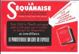 Buvard La Séquanaise Rouge - Bank & Insurance