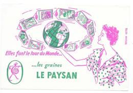 Buvard Les Graines LE PAYSAN - Farm