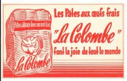Buvard Les Pâtes Aux Oeufs Frais La Colombe - Food