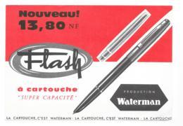 Buvard Waterman - Lot De 5 Buvards - Cartoleria
