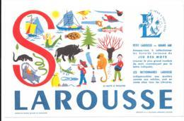 Buvard Larousse Alphabet Lettre S - Blotters