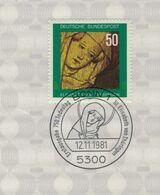 Hl. Elisabeth Von Thüringen - 5300 Bonn 1981 - Ungarische Prinzessin Deutsche Landgräfin Heilige Der Katholischen Kirche - Theologen