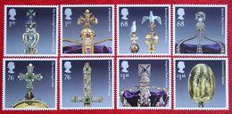 The Crown Jewels (Mi 3126-3133) 2011 POSTFRIS MNH ** ENGLAND GRANDE-BRETAGNE GB GREAT BRITAIN - Nuovi