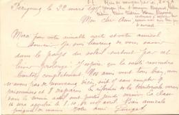 CPA - CORRESPONDANCE MILITAIRE - 22 MARS 1915 - Militari
