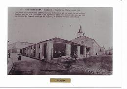 SAUJON  -  Place Du Marché - Anciennes Halles Détruites Grand Format 180x130 - Saujon
