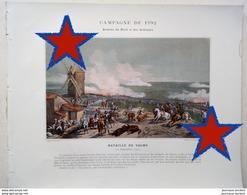 BATAILLE DE VALMY - ALBUM MILITAIRE - ARMÉE DU NORD ET DES ARDENNES - CAMPAGNE DE 1792 - Historical Documents