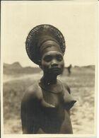 RARE , Photo N° 2440 , Nobosodrou Femme Mangbetu , Niangara .Expédition Citroen , 1926 - Ethniques, Cultures