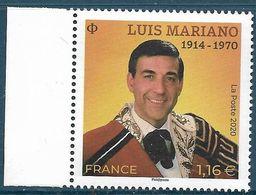 Luis Mariano BDF (2020) Neuf** - France