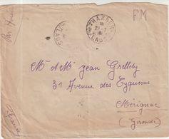 """LAOS : PA . EN FM . DE """" THAKHEK """" . POUR LA FRANCE . 1946 - Laos"""