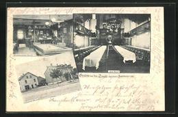 CPA Saarburg, Innen- Et Vue Extérieure Vom Gasthaus Tivoli (Spinner) - France