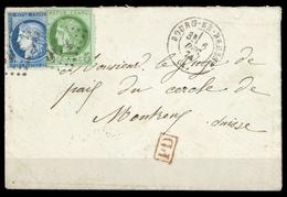 1871, Frankreich, 48, 51, Brief - Non Classificati
