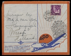 1937, Niederländisch Indien, 216, Brief - Indie Olandesi