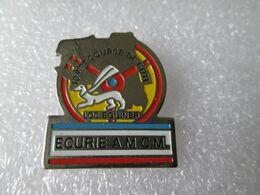 PIN'S   ECURIE A M C N   10eme  COURSE DE COTE   LOC  EGUINER - Rally