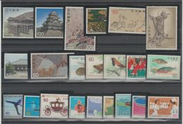 JAPON /JAPAN  2 Lots  Between  1976 And 1977 **MNH  Réf  516 T - Collections, Lots & Series