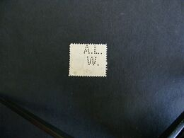 Perfin - Jugolavia-Regno Serbo 1919 - Francobollo ,stamps, Perfins Perforè, Perforated - Usados