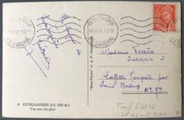 France N°415 Seul Sur CPA 1942 - (C1352) - 1921-1960: Modern Period