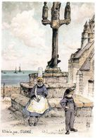 REF 504 CPSM Robert Lepine N.D. De La Joie St Guénolé - Altri Comuni