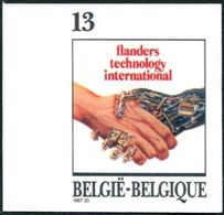 13187006 BE 19870228; Flanders Technology, Mains, Robot; ND Cob2243 N°521 - Belgio