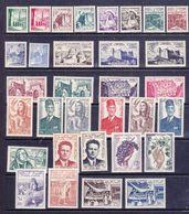 Tunisia  1956-57 Regno Indipendente Yv. P:O  402-443,PA 22-25 ,Tx 66-73 MNH ** - Tunisie (1956-...)