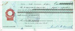 Portugal Casa Da Moeda , 1967 , Letra , Bill Of Exchange , Used , Tax Revenue  12$00 , Embossed Seal , Watermark - Letras De Cambio