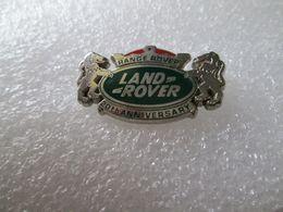 TOP  PIN'S     LOGO   LAND  ROVER   RANGE ROVER  20th  ANNIVERSARY - Badges