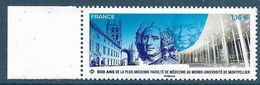 800 Ans De La Faculté De Médecine De Montpellier BDF (2020) Neuf** - France