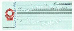 Portugal Casa Da Moeda , 1960 's , Letra , Bill Of Exchange ,  Used  , Tax Revenue 16$00 , Embossed Seal , Watermark - Letras De Cambio