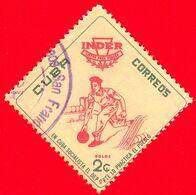 CUBA - Usato - 1962 - INDER Istituto Nazionale Dello Sport - Ten Pin Bowling - 2 - Gebraucht