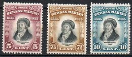 SAINT MARIN 193 / 195* - Saint-Marin