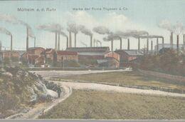 MULHEIM A. D. RUHR  WERKE DER FIRMA THYSSEN & Co - Muelheim A. D. Ruhr