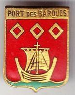 Port Des Barques. P,AB. Insigne De Boutonnière à épingle à Ressort. - Landmacht
