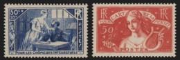 France N°307/308, Neufs ** Sans Charnière COTE 141 € - TB - France