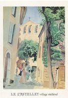 CPM 10326 Le Castellet G. Fevre 1990 Mémoire D'un Mur Editions Clouet - Pubblicitari