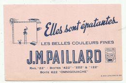 Buvards  JM Paillard  Les Belles Couleurs Fines - Farben & Lacke