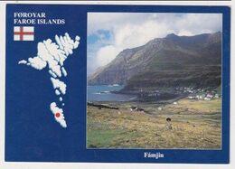 FAROE ISLANDS - AK 382768 Fámjin - Féroé (Iles)