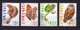 SUISSE     Oblitéré     Y. Et T.    N° 1472 / 1475       Cote: 4,50 Euros - Gebruikt