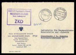 1964, DDR Verwaltungspost B Zentraler Kurierdienst, Brief - Official