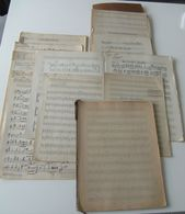 Documents Personnels Partitions Sander Hyams Mistigri Hymne Carnaval Nice 1932 - Musique & Instruments