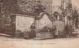 83 La Garde Freinet. La Fontaine - La Garde Freinet